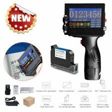 Protable Handheld  Inkjet Printer Smart Date Coder Ink Coding Machine LCD Screen