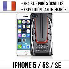 Coque iPhone 5 / 5S / SE - Audi V8 (2)