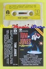 MC TOM JONES His 20 greatest hits K-TEL MC 1184 no cd lp dvd vhs