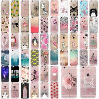 Ultra Thin Pattern Funda Carcasa Soft TPU Case Cover For iPhone 8 7 6 6s X Plus