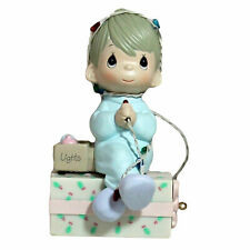 Precious Moments Figurine  558125, May Your Christmas Be Delightful