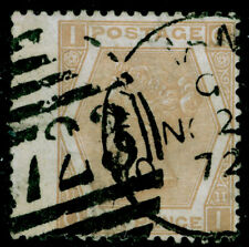 SG123, 6d pale buff plate 11, USED. Cat £125.