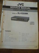 JVC XL-V250BK Compact Disc Player Service Manual