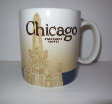 Starbucks CHICAGO Coffee Mug Global Icon Series 2010 16 oz City