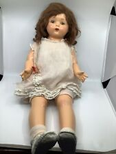 Treasure! 1920s Mae Starr Phonograph Doll by Effanbee. Works! 5 records.