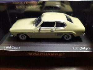 FORD CAPRI MKI BEIJE 1969 MINICHAMPS 430085508 1/43 LIMITED EDITION
