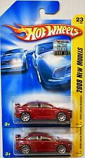 Hot Wheels 2008 All Stars Split Decision Bleu emballage D'origine