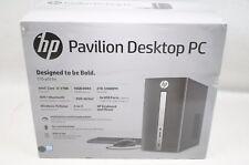 HP 570-p033w Pavilion Desktop PC i7-7700 16GB 2TB Win.10 - Black - FOR PARTS