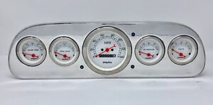 1960 1961 1962 1963 Ford Falcon Gauge Dash Cluster White