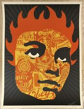 OBEY SHEPARD FAIREY COLLAGE GIRL - 2005 SIGNED, ARTIST PROOF