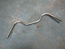 """FRONT STREET CYCLE 1"""" STAINLESS MUSTACHE BOARDTRACKER HILLCLIMBER HANDLEBARS"""