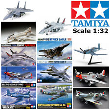 Tamiya 1:32 Model Kits Military Aircraft Fighter Jet WWII Aeroplane Airplane