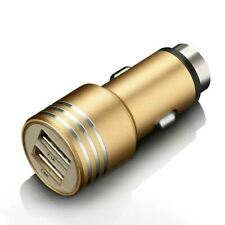 Car Charger Dual USB 2.0 Fast Charging Adapter Lead iPhone 11 Pro Samsung M40S