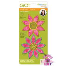 55309-Accuquilt GO! Fabric Cutter Flower Power Sarah Vedeler Exclusive Quilt Die