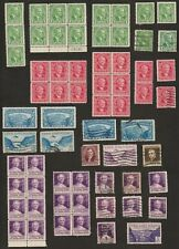140+ Panama Canal Zone Colombia Venezuela Stamps 1890s-1950s Used/UnusedNg Blks