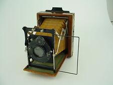 Contessa-Nettel Tropen-Sonnet 6.5x9cm Camera, 12cm f/4.5 Tessar, Compur shutter