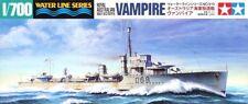 Tamiya 31910 1/700 Model Kit Royal Australian Navy Destroyer HMAS Vampire(D68)