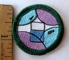 Retired Girl Scout 2001-11 Junior SCIENCE DISCOVERY BADGE Scientist Beaker Patch