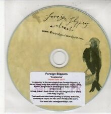 (DG93) Foreign Slippers, Avalanche - 2011 DJ CD