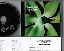 DEPECHE MODE Exciter JAPAN CD w/PS+INSERT VJCP-68312 NO OBI Ex