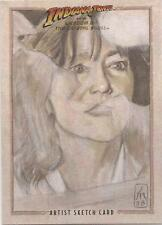 "Indiana Jones Kingdom Crystal Skull - Leah Mangue ""Marion Ravenwood"" Sketch Card"