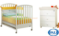 Cot Ciak Pali white + baby bath Tris Pali - beds for kids and changing table