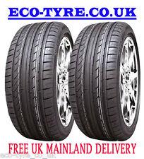 2X Tyres 245 45 R18 100W XL HIFLY HF805 M+S E C 71dB