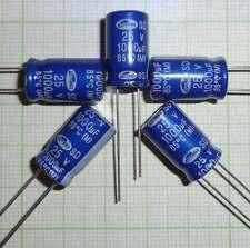 E465 - 10X Stützkondensator für Wagen Beleuchtung ,Kondensator- 1000µF/25V