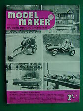 MODEL MAKER MAGAZINE SEPTEMBER 1951 - RARE EARLY TETHER CAR MAGAZINE