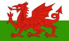 "WALES Welsh Dragon FLAG 18"" X 12"" for boats treehouses caravans boat caravan"