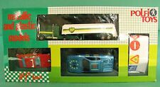 Polfi Metallic and Plastic Cars Set Bmw 635 Ferrari 512 Kenworth Truck Bp