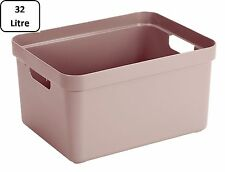 SUNWARE Sigma Home Box 32 Liter ohne Deckel - rosa
