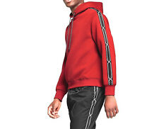 New Hunter for Target Mens Chain Trim Hoodie Hoody Red Size L