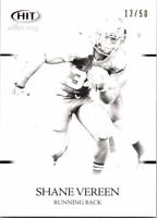 2011 Sage Hit Make Ready Black Football Card #59 Shane Vereen 13/50