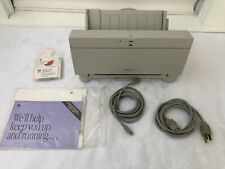Vintage Apple Style Writer II  Printer 9405 1993 Cables Disk Manual Untested