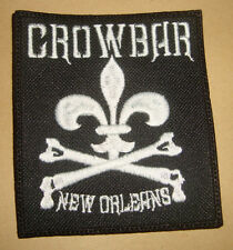 CROWBAR - LOGO Embroidered PATCH