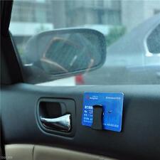 1Pair Black Car Auto Interior Card Bill Paper Glasses Shades Storage Holder Clip