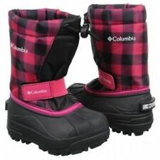 COLUMBIA Toddler/'s POWDERBUG Forty Print Winter Boots Nuclear Size 8 Grill