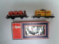 Lima HO Gauge Unigate Watneys Mobil LPgas Tank wagons - set of 3