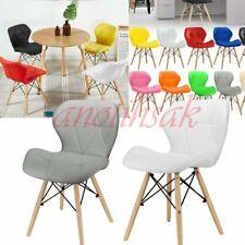 2/4er Set Wohnzimmerstühle Esszimmerstühle PU Sitzfläche Wohnzimmer Küchenstuhl