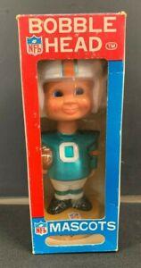 1975 NFL FOOTBALL MASCOTS *MIAMI DOLPHINS* SPORTS SPECIALTIES BOBBLE HEAD