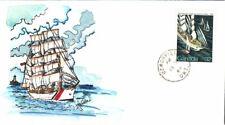 #1012 Voyage Tall Ships Regatta Weddle Fdc (17119841012001)