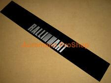 53inch Ralliart mono logo mid Windshield Decal Sticker Banner Sunstrip Sunvisor