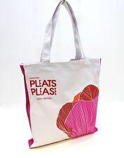 Issey Miyake Pleats Please Canvas Ladies Tote / Shopper Bag
