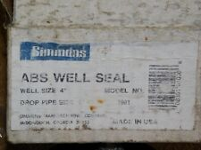"""Simmons No. 1901 Water Well Head Seal  4"""" x 1"""" New"""