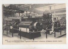 Thomas Robinson Milling Machines Rochdale Vintage French Advert Postcard 396b