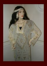 Precious & Authentic & Gold & Shinning Assuit Dress Shawl & 2 Gifts & Saving