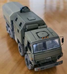Truck Kamaz 63501 8x8 12 Ton Artillery Tractor 1/43 Rare Scale No Spark Army