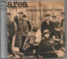 2CD AREA Concerto Teatro Uomo (Cramps/Sony 96/2014) Italian prog Stratos SEALED!