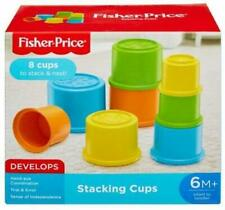 Fisher Price Basics Building Beakers Stacking Blocks Cups Learning Activity